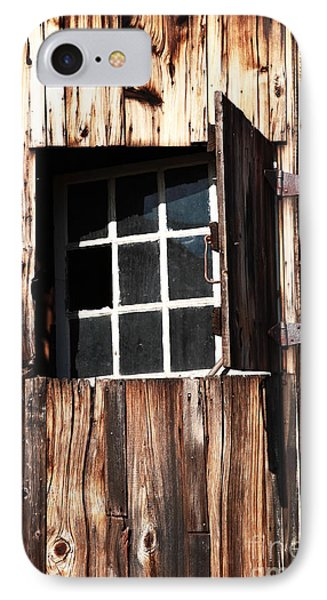 Country Window IPhone Case by John Rizzuto