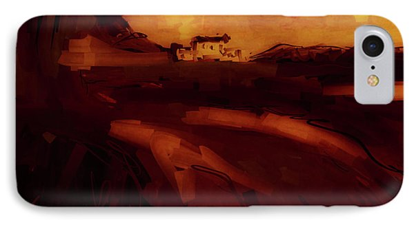 IPhone Case featuring the digital art Countryside Landscape II by Jim Vance