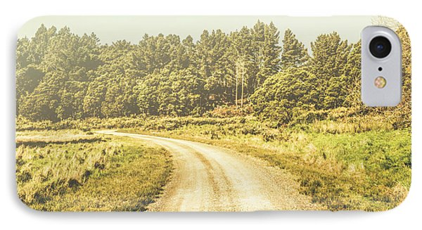 Countryside Road In Outback Australia IPhone Case