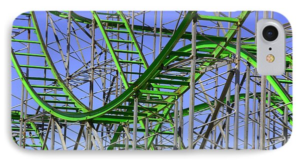 County Fair Thrill Ride IPhone Case by Joe Kozlowski