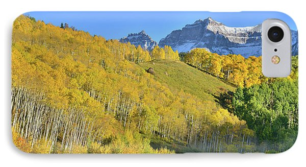 IPhone Case featuring the photograph County Road 7 Fall Colors by Ray Mathis