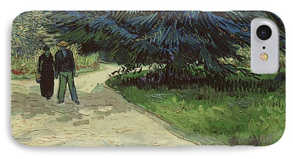 Couple In The Park Phone Case by Vincent Van Gogh