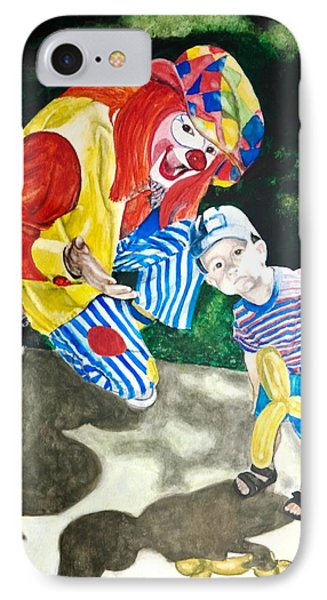 Couple Of Clowns IPhone Case