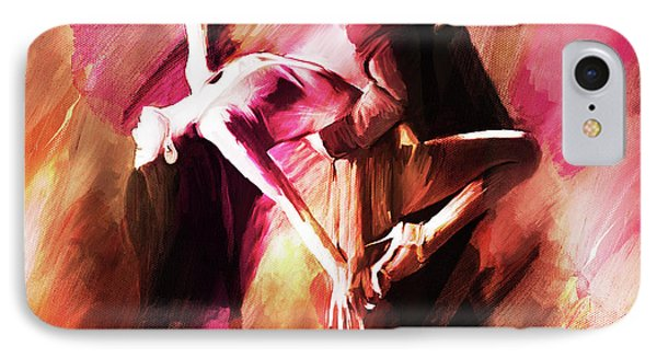 Couple Tango Art IPhone Case by Gull G