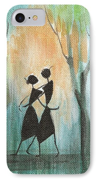 Couples Delight Phone Case by Chintaman Rudra