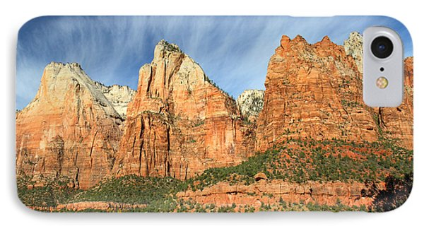 Court Of The Patriarch In Zion Phone Case by Pierre Leclerc Photography