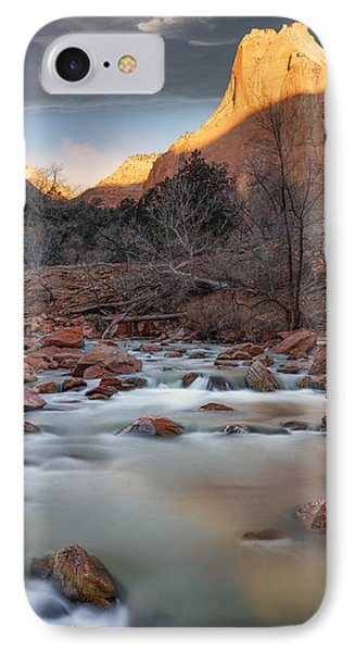 Court Of The Patriarchs IPhone Case by Leland D Howard