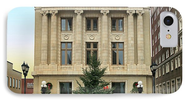 Courthouse At Christmas IPhone Case by Greg Joens