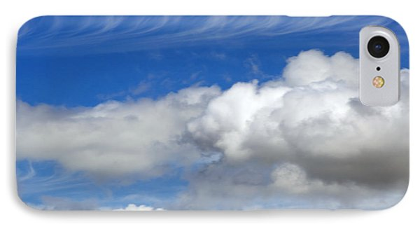 IPhone Case featuring the photograph Courting Clouds by Gwyn Newcombe