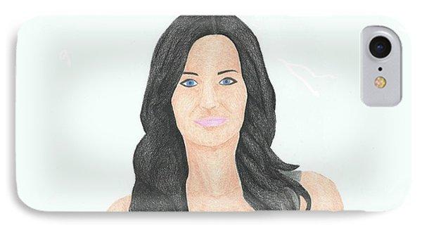 Courtney Cox IPhone Case
