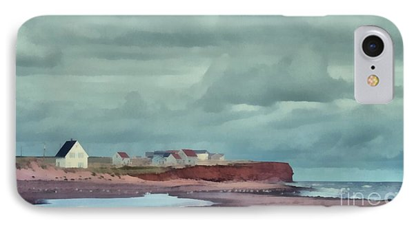 Cousins Shore Prince Edward Island Landscape IPhone Case by Edward Fielding
