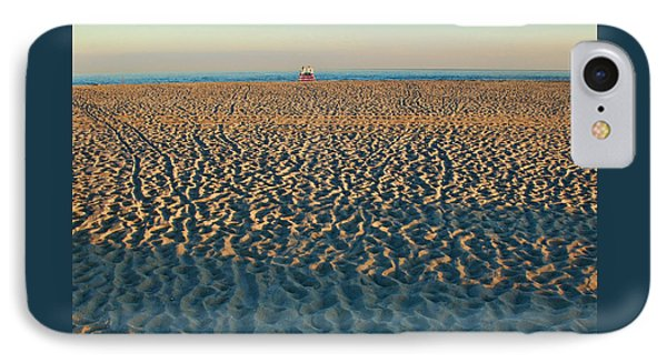Cove Beach End Of Day IPhone Case by Allen Beatty