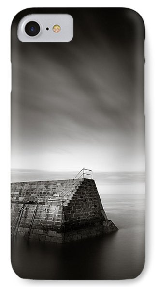 Cove Breakwater IPhone Case by Dave Bowman