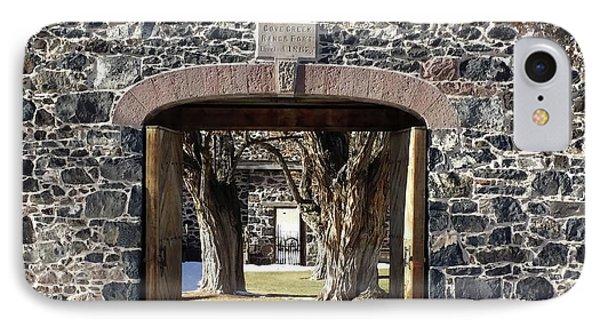 Cove Fort, Utah Phone Case by Cynthia Powell