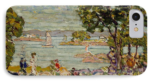 Cove  Maine IPhone Case by Maurice Brazil Prendergast