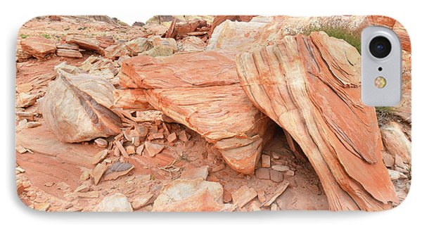 IPhone Case featuring the photograph Cove Of Sandstone Shapes In Valley Of Fire by Ray Mathis
