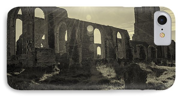 Covehithe Abbey IPhone Case by Svetlana Sewell