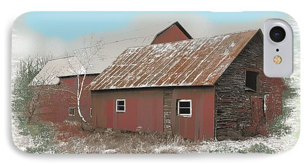 Coventry Barn IPhone Case by John Selmer Sr