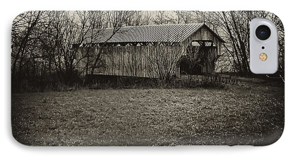 Covered Bridge In Upstate New York Phone Case by Bill Cannon
