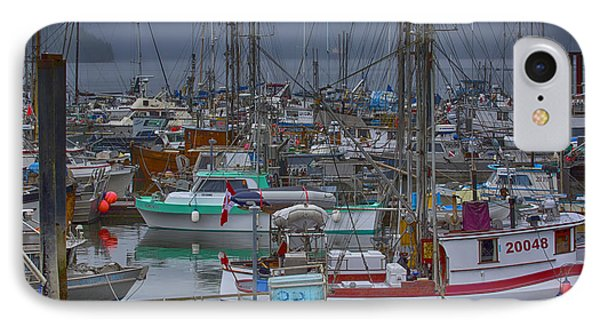 Cow Bay Commercial Fishing Boats IPhone Case