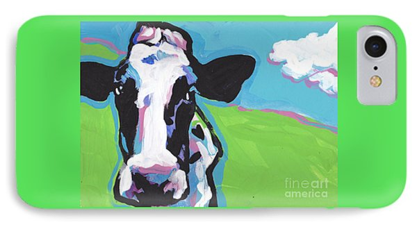Cow Cow IPhone Case by Lea S