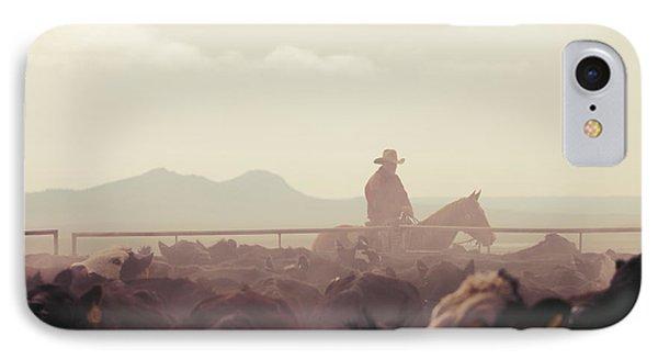Cowboy Dawn IPhone Case
