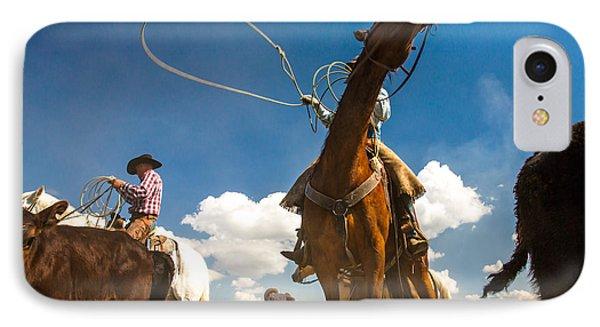 Cowboy Noir IPhone Case
