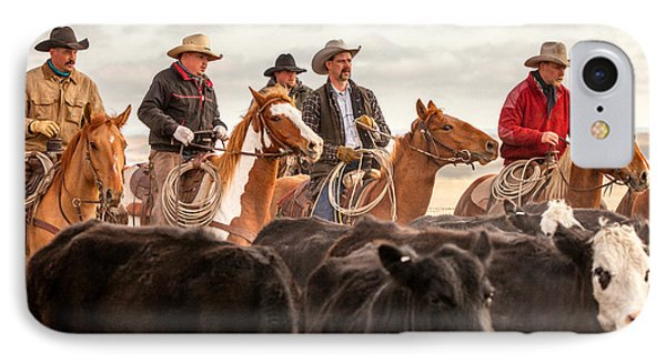 Cowboy Posse IPhone Case by Todd Klassy