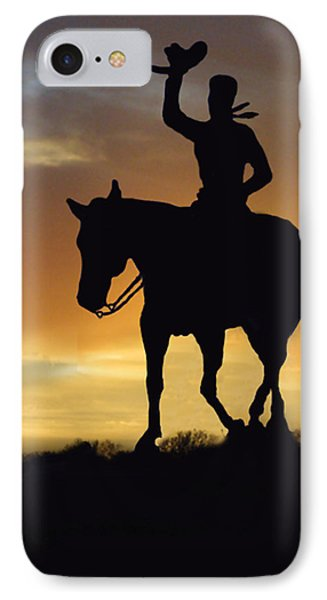 Cowboy Slilouette IPhone Case