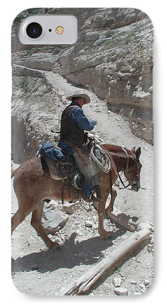 IPhone Case featuring the photograph Cowboys In The Canyon by Nancy Taylor