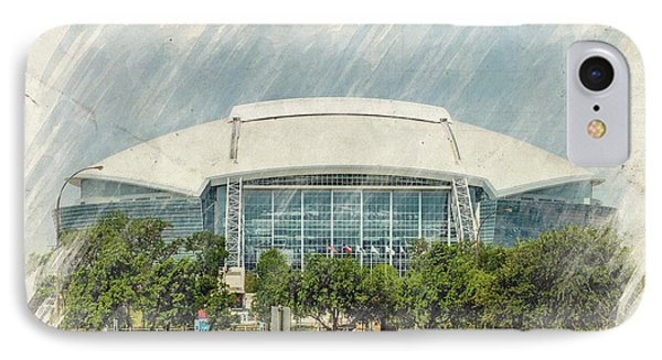 Cowboys Stadium Phone Case by Ricky Barnard