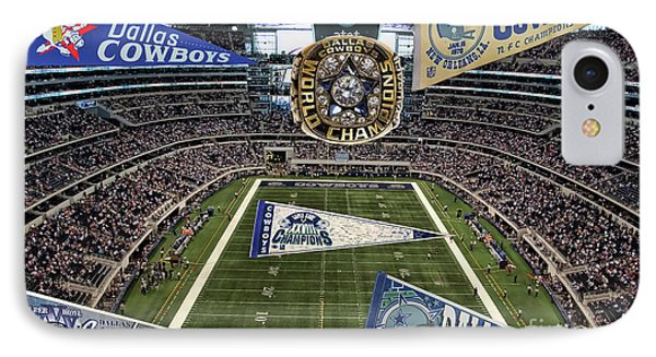 Cowboys Super Bowls IPhone Case