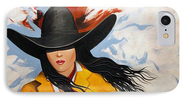 Cowgirl Colors #3 IPhone Case by Lance Headlee