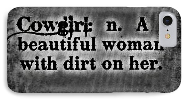 Cowgirls B-w IPhone Case