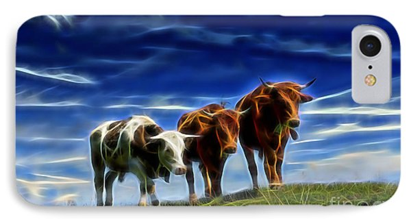 Cows IPhone Case by Marvin Blaine