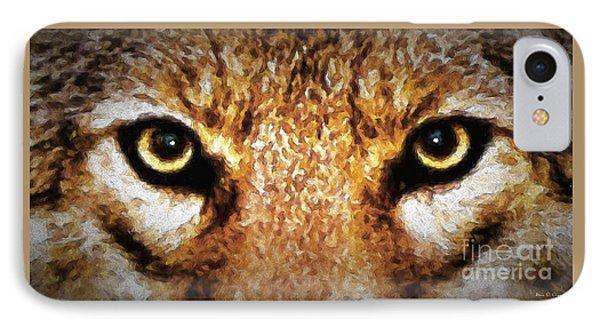 Cyote Eyes IPhone Case by Adam Olsen
