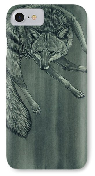 Coyote IPhone Case by Aaron Blaise