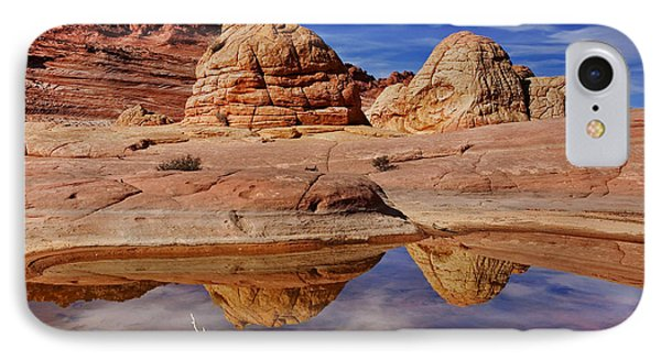 Coyote Butte Reflections Phone Case by Mike  Dawson
