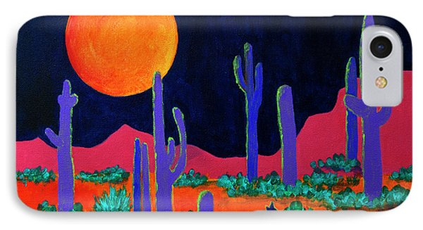 Coyote Moon IPhone Case