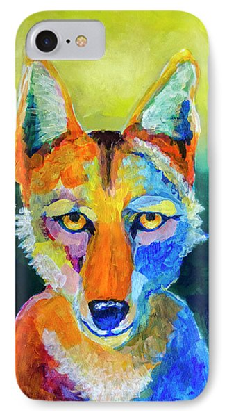 Coyote IPhone Case by Rick Mosher
