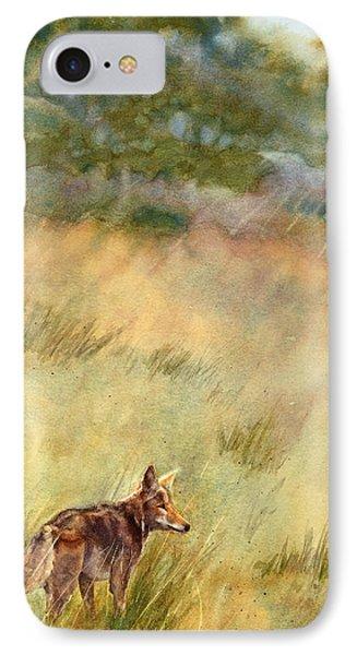 Coyote Santa Rosa Plateau IPhone Case by Bonnie Rinier