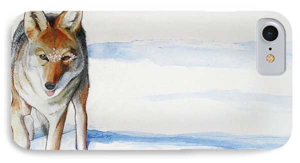 Coyote Trot IPhone Case