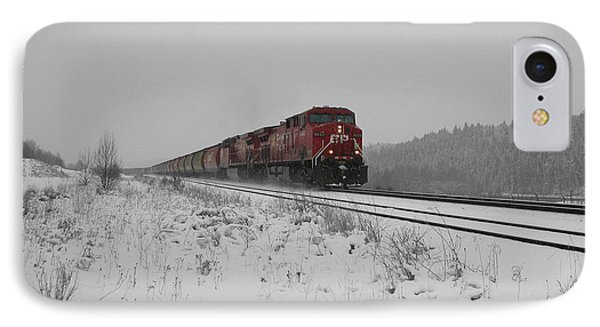 IPhone Case featuring the photograph Cp Rail 2 by Stuart Turnbull