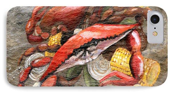 Crab Boil Phone Case by Elaine Hodges