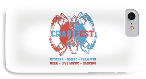 Crab Fest Tee IPhone Case