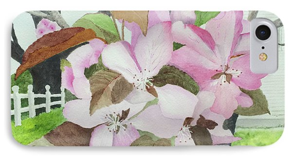 Crabapple Blossoms IPhone Case by Bonnie Young
