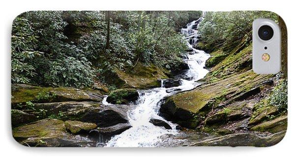 Roaring Fork Falls  - May 2015 IPhone Case by Joel Deutsch