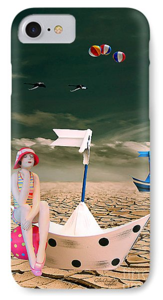 IPhone Case featuring the photograph Cracked II - The Bathing Beauty by Chris Armytage