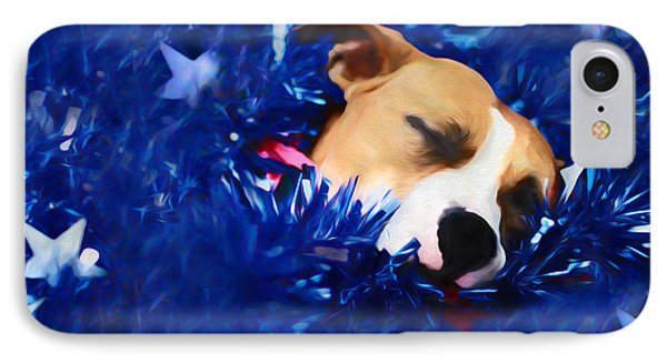 IPhone Case featuring the photograph Cradled By A Blanket Of Stars And Stripes by Shelley Neff