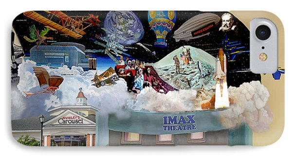 Cradle Of Aviation Museum Imax Theatre IPhone Case by Bonnie Siracusa